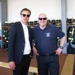 Freuen sich auf viele Besucher: Christopher Fock (li.) und Stefan Birke