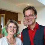 Pastorin Dr. Birgit Vočka und Christopher Fockund Pastor Christopher Fock