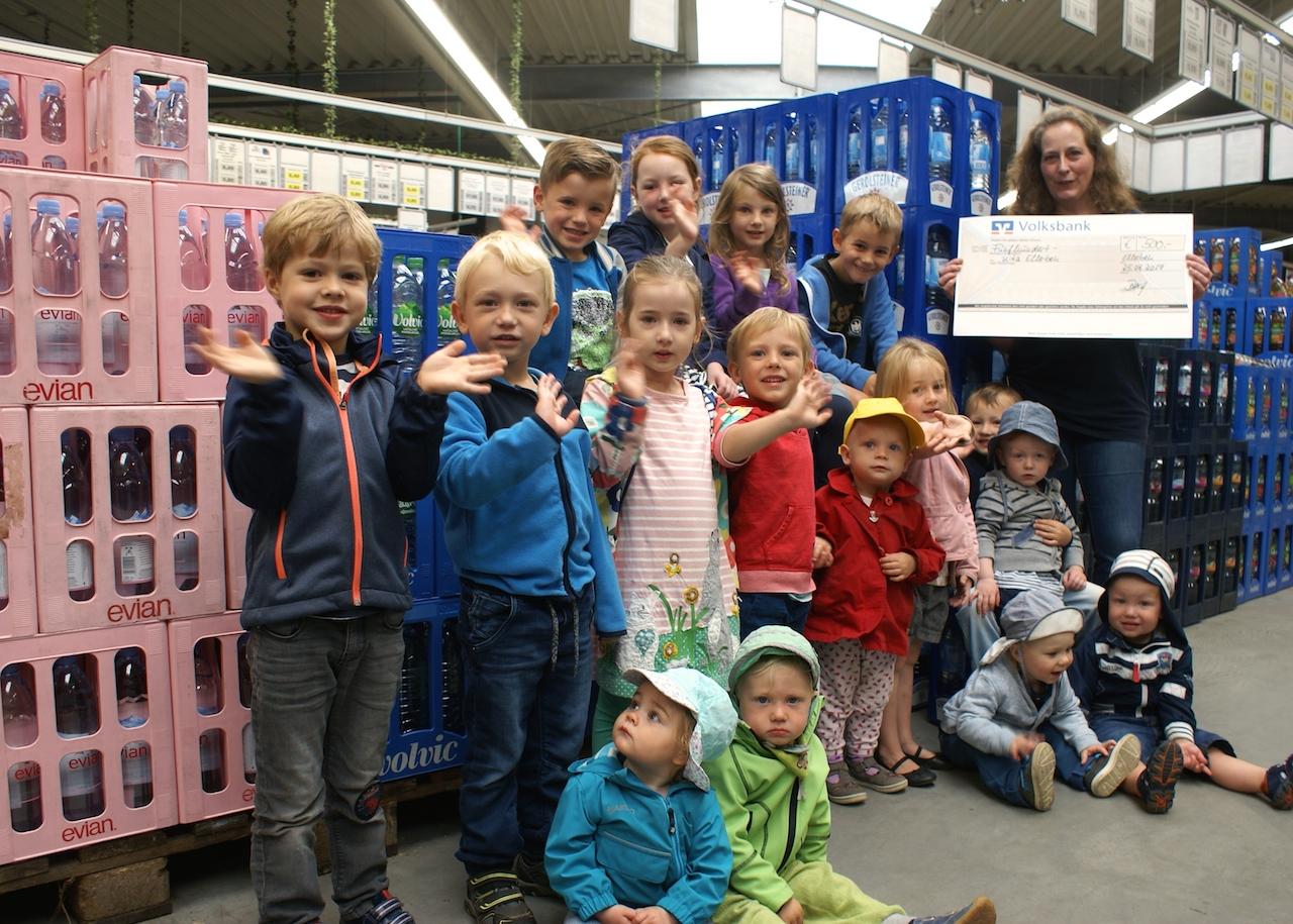 500 Euro für die Kita - Dorfgeflüster