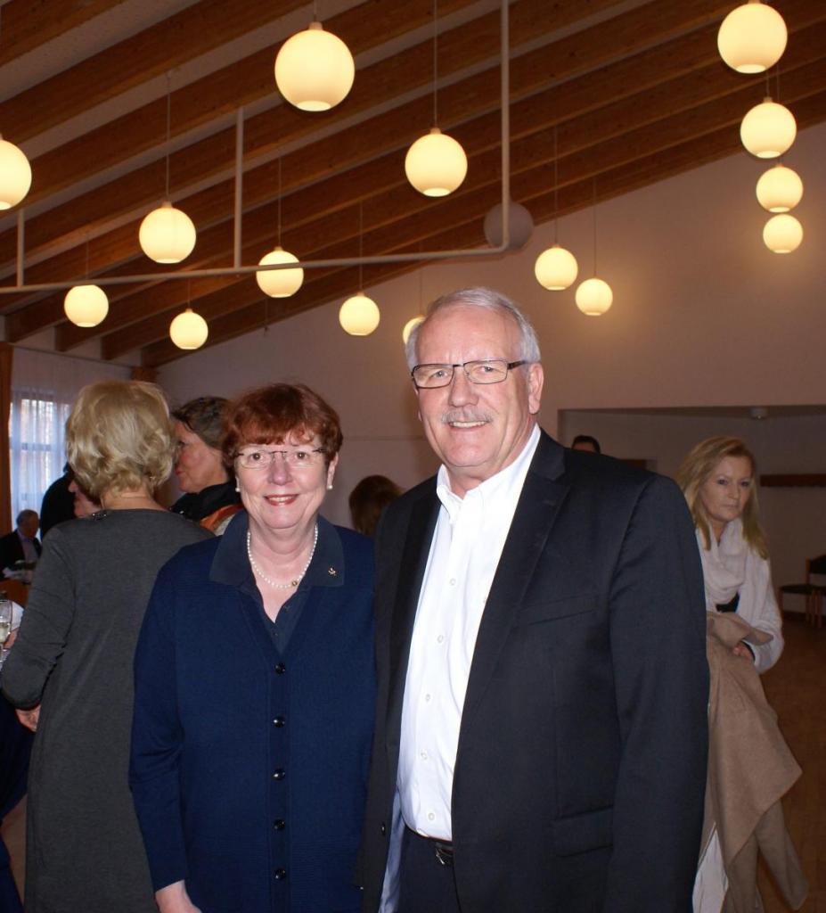 Günther Hildebrand und seine Frau Regine begrüßten die Gäste