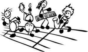 Fröhliches Musizieren