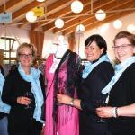 Das gut gelaunte Organisationsteam (v.l.): Sabine Wenzel, Heike Möller, Anke Albrecht und Nicole Timm