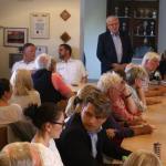 Bürgermeister Bernhard Brummund begrüßte die Besucher