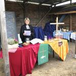 Pastorin und Tierfreundin: Birgit Vočka