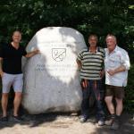Freuen sich über das Ergebnis (v.li.): Arne Hansen, Bernd Flocken und Peter Sommer
