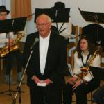 Während seiner Neujahrsansprache blickte Ellerbek Bürgermeister Günther Hildebrand auf das vergangene Jahr zurück.