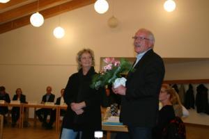 Musikpädagogin Ruth Bednarski-Köller und Günther Hildebrand.