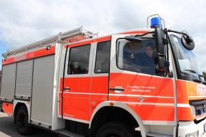 Feuer Dorfstraße in Quickborn