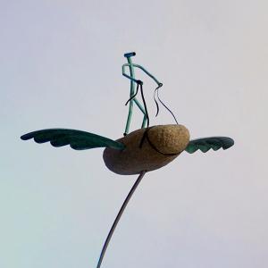 Skulpturen von Jo Köser sind derzeit in Barmstedt zu sehen.