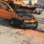 FF Bönningstedt: Schwerer Verkehrsunfall auf der A7