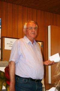Dr. Eckhard Johannes aus Bönningstedt stellte die Arbeit des dortigen Freiwilligen Forums vor.