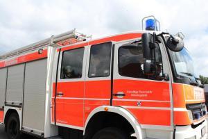 Ellerbek: Feuerwehreinsatz Unter den Linden
