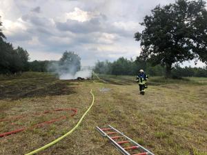 Feuer in Bönningstedt