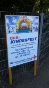 Das DRK Hasloh lädt zum Kinderfest ein.