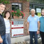 Das Team von Rindchen's Weinkontor.