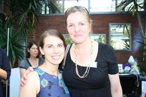 Anna Graf (links) und Sandra Engel-Dälken riefen das Business Women-Netzwerk für die Region Quickborn ins Leben.