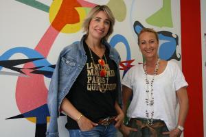 Katja Bär (rechts) wird im Marketing von ihrer Schwester Swaantje Taube unterstützt.