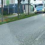Unfall auf der Kieler Straße