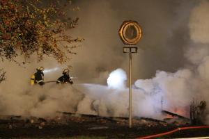 Feuer im Golfclub Wendlohe