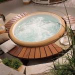 Whirlpools und Saunen