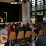 Vor Publikum und Jury kämpften 14 Sechstklässler um den Sieg beim Regionalentscheid.