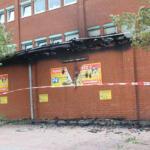 Futterhaus abgebrannt