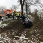 Verkehrsunfall in der Kellerstraße