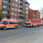 Feuer Ellerbeker Straße - Zimmerbrand – Person im Gebäude