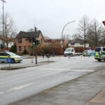 Großeinsatz der Polizei in Schnelsen