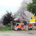 Großbrand in Bönningstedt